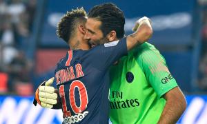 Vì lời hứa với Buffon, Neymar quyết tâm trở lại sớm nhất có thể