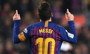 Ghi bàn thắng duy nhất cho Barcelona, Messi vẫn kịp lập nên kỷ lục mới