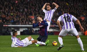 Mang về phạt đền gây tranh cãi cho Barcelona, Pique khẳng định mình đã bị phạm lỗi
